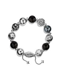 David Yurman | Black Dy Elements Bracelet | Lyst