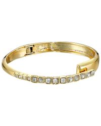 Alexis Bittar - Metallic Overlapping Hinge Bangle - Lyst