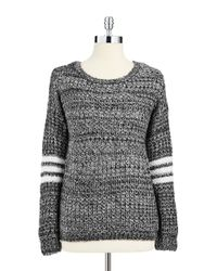 Jessica Simpson - White Loose Knit Sweater - Lyst