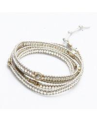 Nakamol | Multicolor Brilliant Wrap Bracelet-silver | Lyst