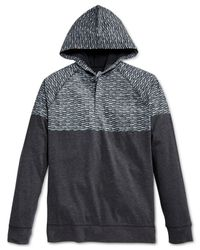American Rag | Black Fake Out Hoodie for Men | Lyst