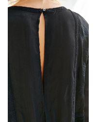 Kimchi Blue - Black Emily Babydoll Shirt - Lyst