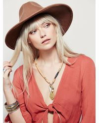 Free People - Natural Levita Layering Necklace - Lyst