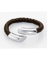 Storm | Brown Flexo Bracelet for Men | Lyst
