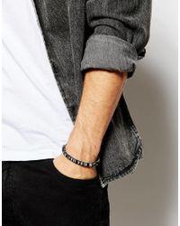 ASOS - Blue Paracord Bracelet for Men - Lyst