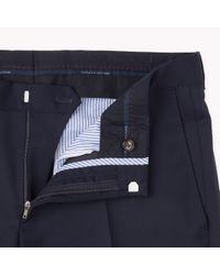 Tommy Hilfiger - Blue Suit Separate Slim Fit Trousers for Men - Lyst