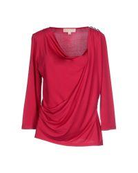MICHAEL Michael Kors - Pink T-shirt - Lyst