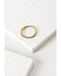 Forever 21 | Metallic Soko Twisted Bull Ring | Lyst