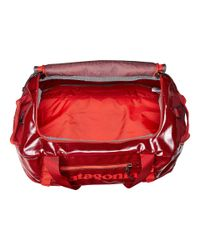 Patagonia | Red Black Hole Duffel 45l | Lyst