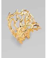 Kenneth Jay Lane | Metallic Branch Bracelet | Lyst
