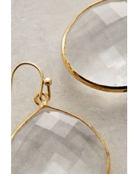 Anthropologie - Metallic Tristan Earrings - Lyst