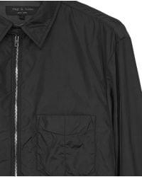 Rag & Bone - Black Daltry Shirt - Lyst