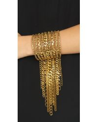 Erickson Beamon | Metallic My Beloved Bracelet - Gold | Lyst
