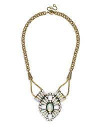 BaubleBar - Metallic Mystic Opal Amulet - Lyst