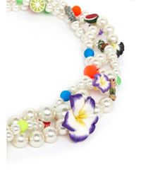 Venessa Arizaga - Multicolor 'sirens' Necklace - Lyst