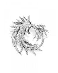 BaubleBar | Metallic Crystal Donati Brooch | Lyst