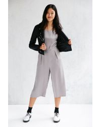 Native Youth | Gray Culotte Jumpsuit | Lyst