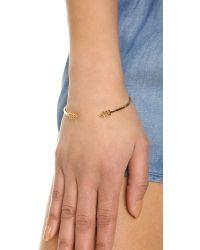 Gorjana - Metallic Nira Cuff Bracelet - Gold - Lyst