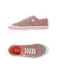 Le Coq Sportif - Pink Low-tops & Trainers - Lyst