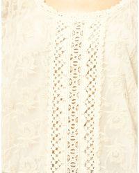 Ralph Lauren   Natural Denim Supply Drapey Tshirt   Lyst
