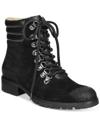 Corso Como | Black Whisper Lace-up Booties | Lyst