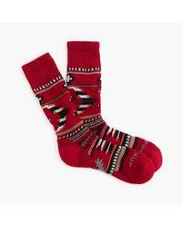 J.Crew | Red Chup Smartwool Socks for Men | Lyst