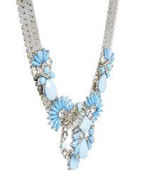 ALDO - Blue Frirella Tough Pretty Necklace - Lyst