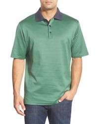 Bugatchi | Green Short Sleeve Cotton Polo for Men | Lyst