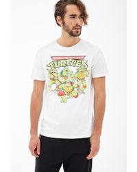 Forever 21 - White Ninja Turtles Graphic Tee You've Been Added To The Waitlist for Men - Lyst
