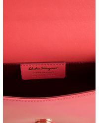 Ferragamo - Pink Miss Vara Mini Shoulder Bag - Lyst