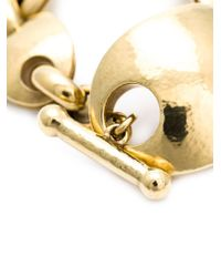 Vaubel | Metallic Oval Link Bracelet | Lyst