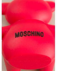 Moschino | Red Bear Shape Usb Key | Lyst