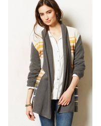 Cynthia Vincent | Green Striped Riva Cardigan | Lyst