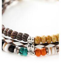 Gas Bijoux   Multicolor 'cielo Triple' Bracelet   Lyst