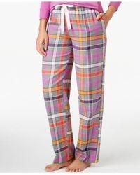 DKNY | Pink Pajama Pants | Lyst