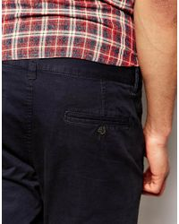 SELECTED | Blue Elected Homme Chinos In Skinny Fit for Men | Lyst