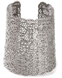 Aurelie Bidermann | Gray Perforated Cuff | Lyst