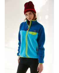 Patagonia - Blue Full-zip Snap-t Jacket - Lyst