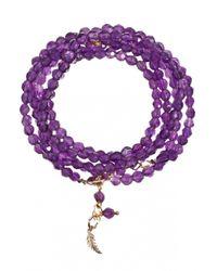 Only Noa Chez Carré Y. | Purple Amethyst Bracelet | Lyst