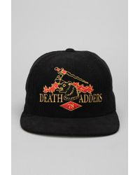 Urban Outfitters | Black Mishka Da Camelot Corduroy Snapback Hat for Men | Lyst