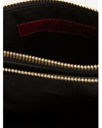 Valentino - Black 'Rockstud' Cross Body Bag - Lyst