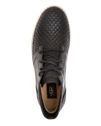 UGG - Black Australia Alin Woven Chukka Sneaker Boots for Men - Lyst