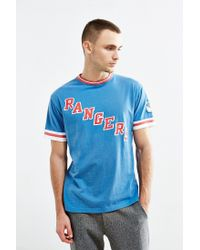 Urban Outfitters | Blue New York Rangers Hockey Tee for Men | Lyst