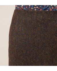 Hobbs - Brown Dalmore Skirt - Lyst