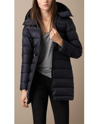 Burberry | Blue Weatherproof Parka With Down-Filled Warmer | Lyst
