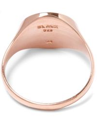 Maria Black - Pink Rose Gold-plated Ready Heart Ring - Lyst