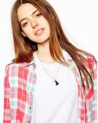 ASOS - Black Limited Edition Hamsa Tassel Necklace - Lyst