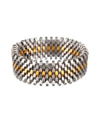 Alice Menter | Metallic Ivy Gold Dot Bracelet | Lyst