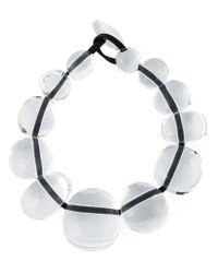 Monies | Natural Transparent Necklace | Lyst
