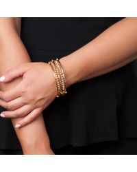 Asha | Metallic Yardley Bangles | Lyst